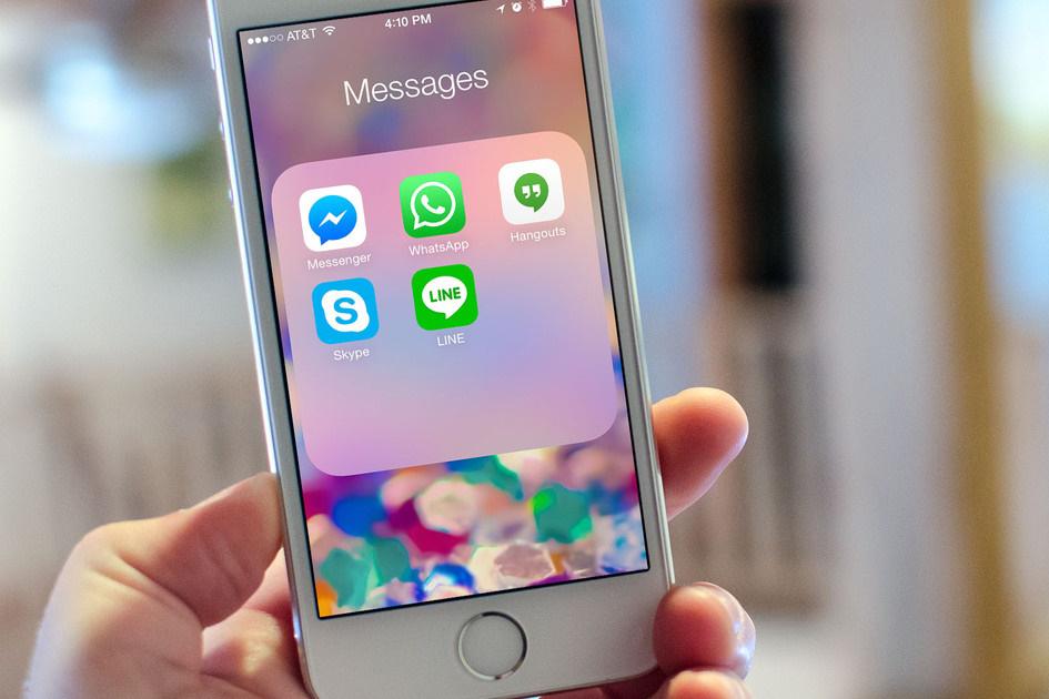 Мессенджеры и соцсети вместо традиционной голосовой связи