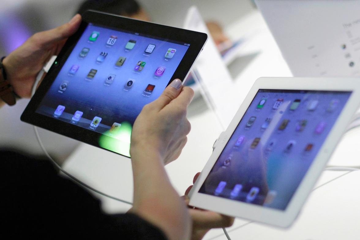 Мировые продажи планшетов упали на 14,7%