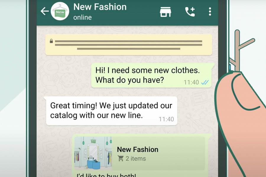 В WhatsApp появилась «корзина» для покупок