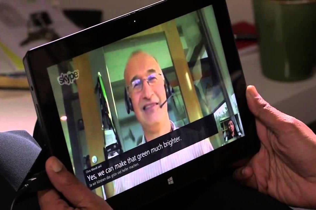 Skype обзавелся субтитрами в режиме разговора