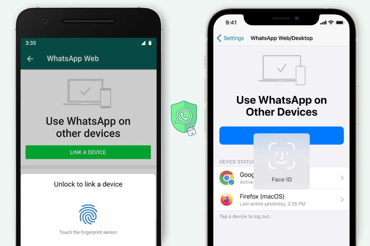 WhatsApp добавил поддержку биометрической идентификации для веб-версии