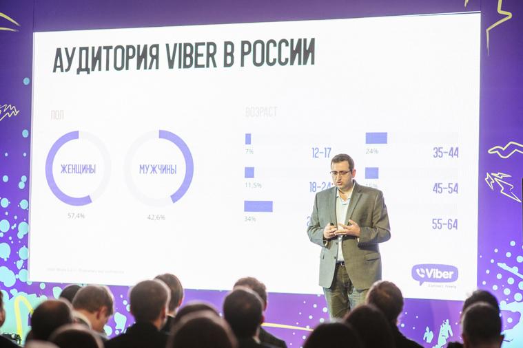Российская аудитория Viber превысила 80 млн зарегистрированных пользователей