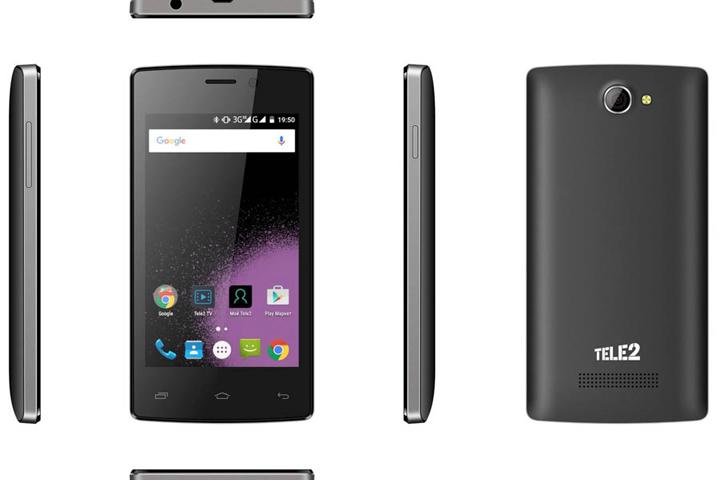 Tele2 начинает продажи собственного смартфона в Красноярском крае