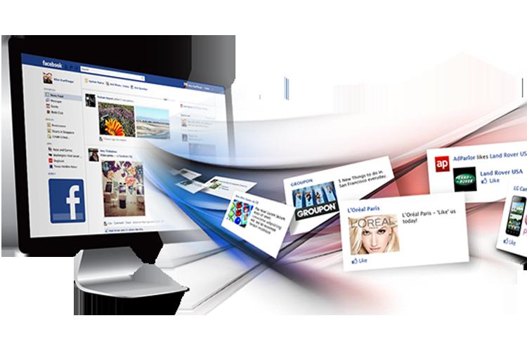 Facebook утонула в рекламе