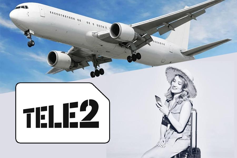 Tele2 подключает абонентов в самолетах