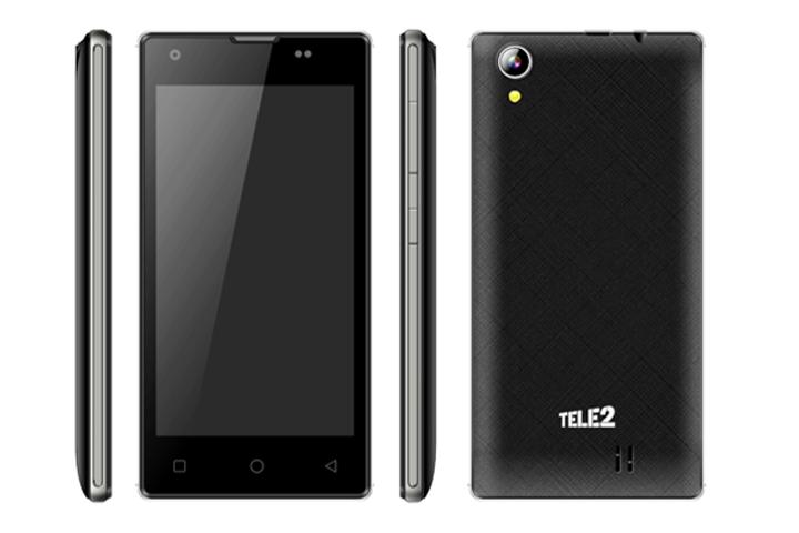 Tele2 начинает продажи нового смартфона под своим брендом