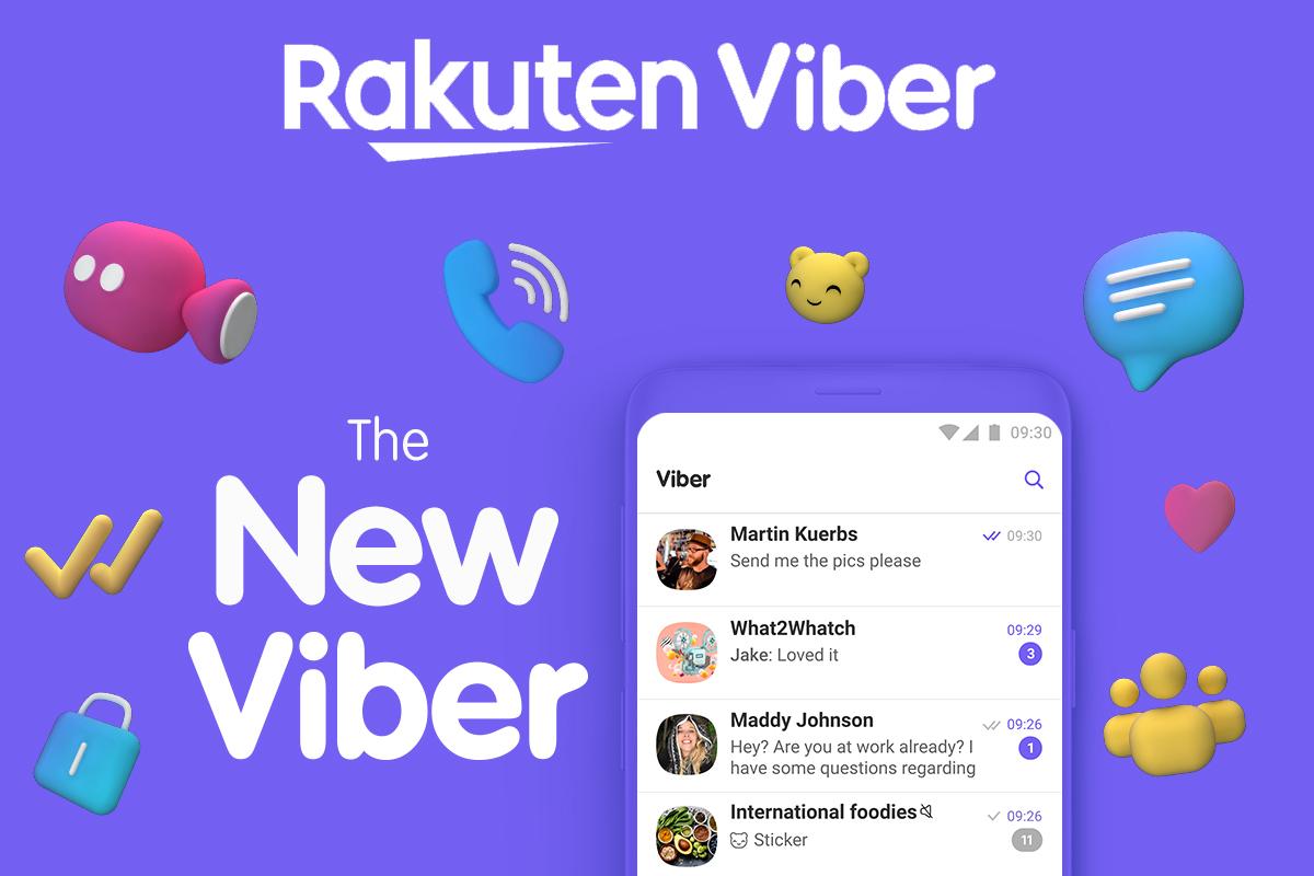 Мессенджер Viber полностью обновил дизайн