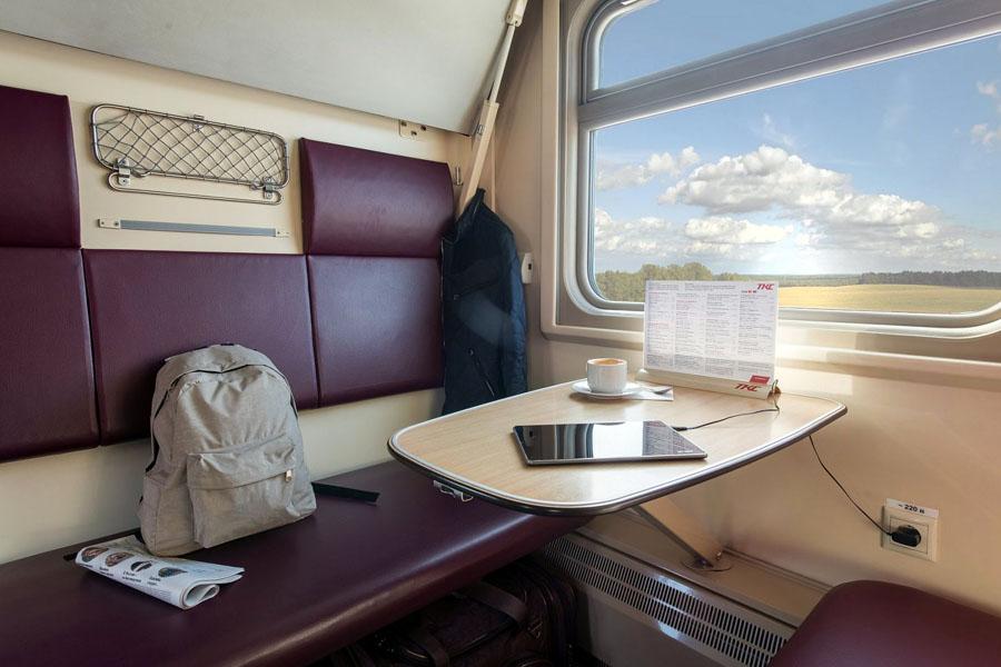 В российских поездах можно будет взять гаджет в аренду