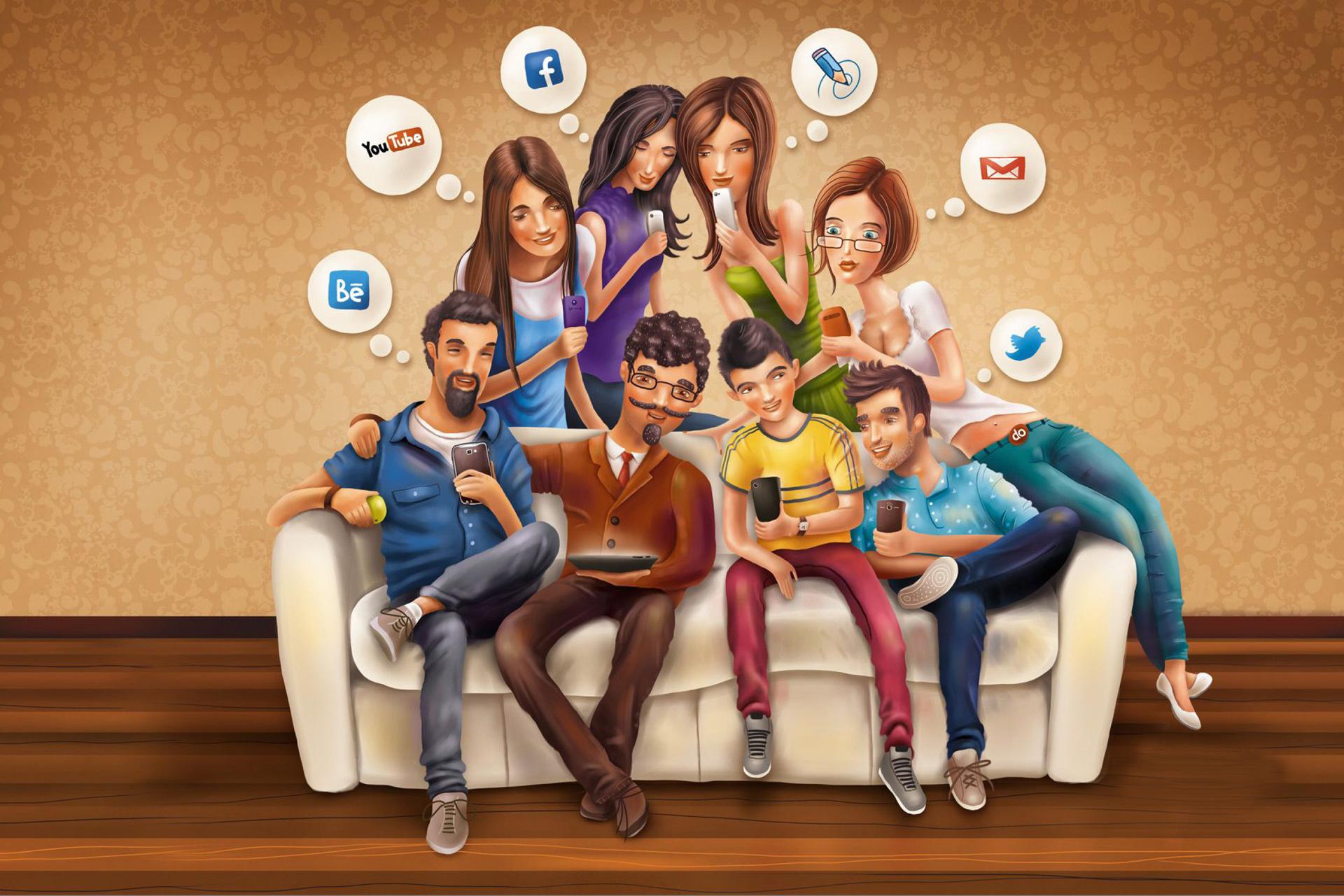 «Билайн» изучил поведение своих абонентов в социальных сетях