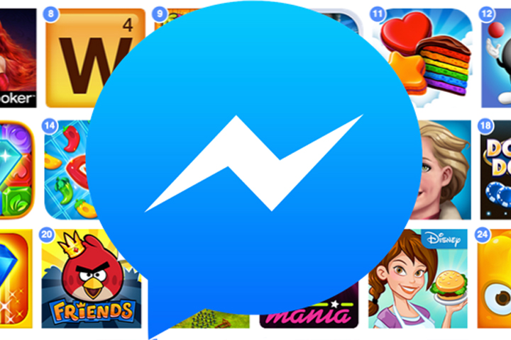 Facebook Messenger тестирует мгновенные игры