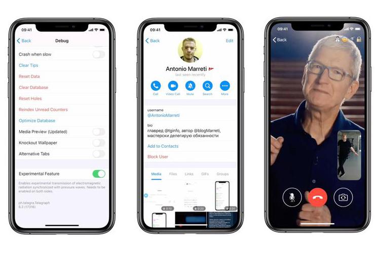 Telegram добавил видеозвонки в бета-версии приложения на iPhone