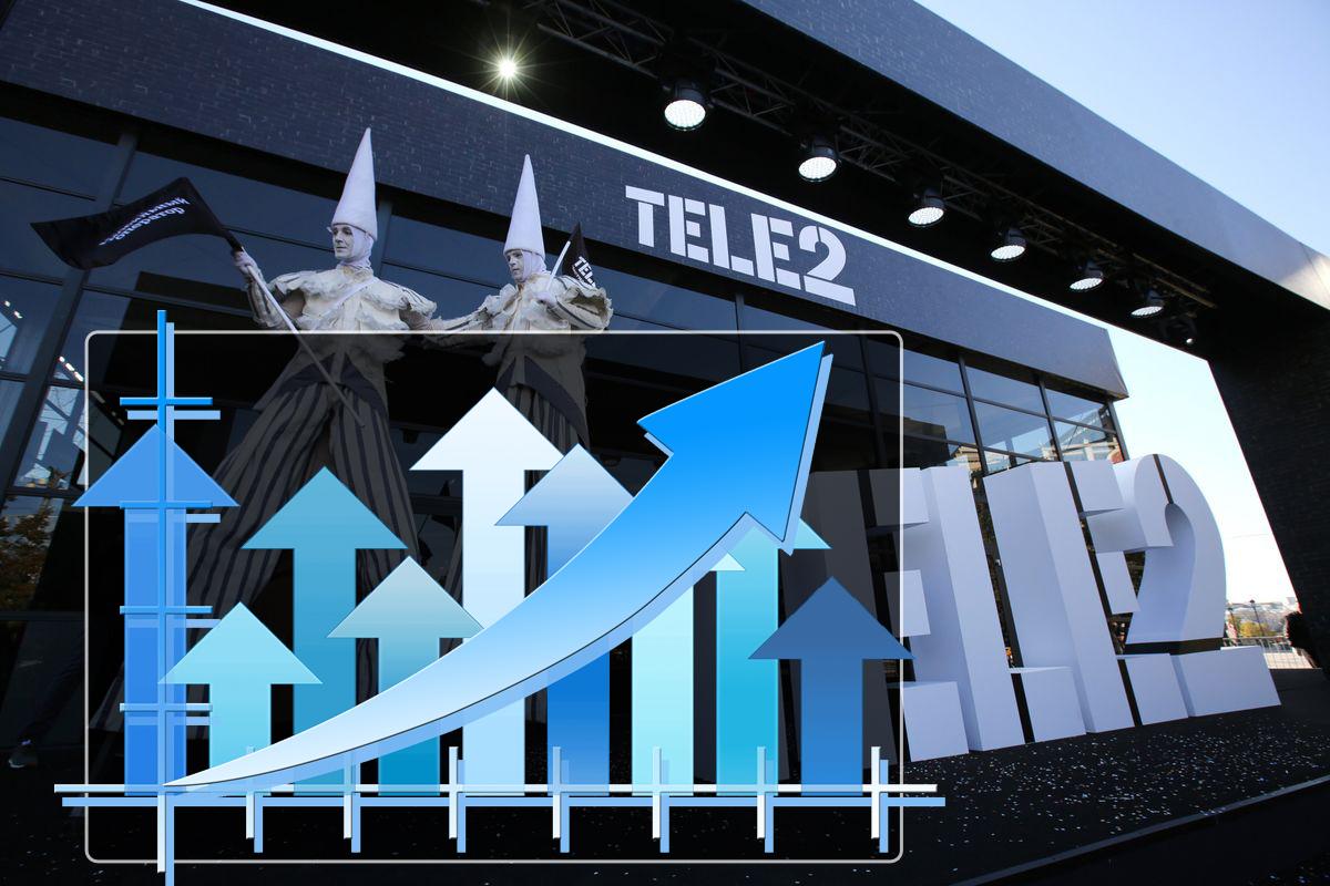 Сотовый оператор Tele2 впервые добился годовой прибыли