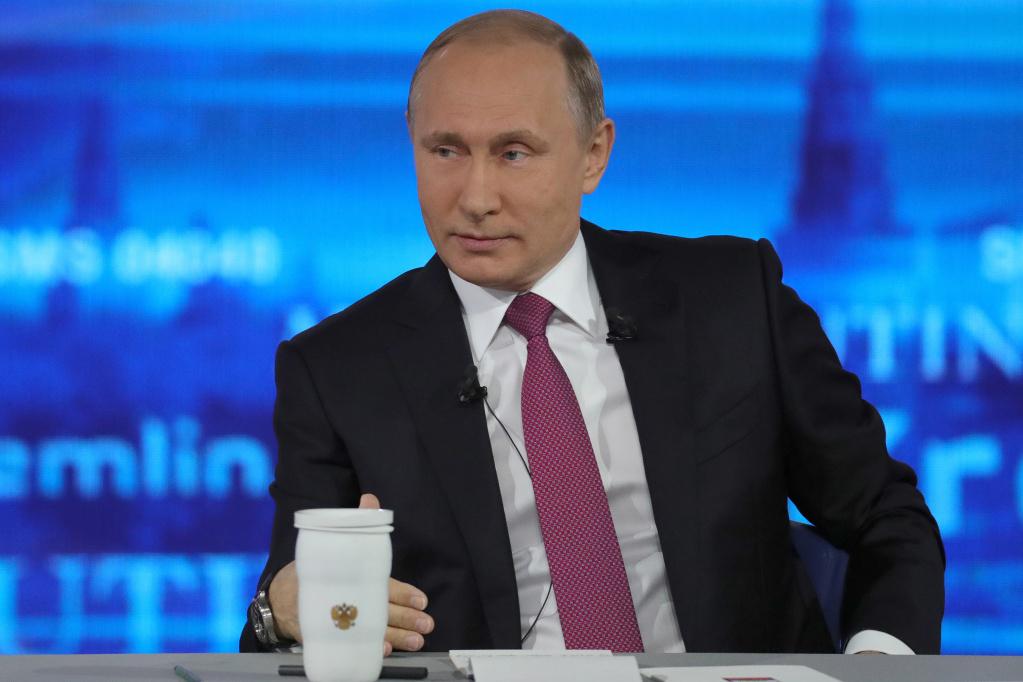 Президент России Владимир Путин против блокировки Telegram