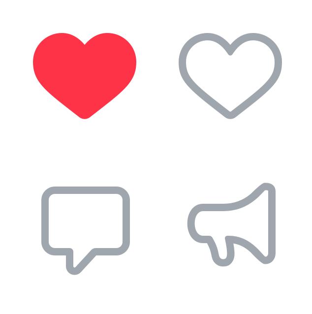 Новые иконки ВКонтакте