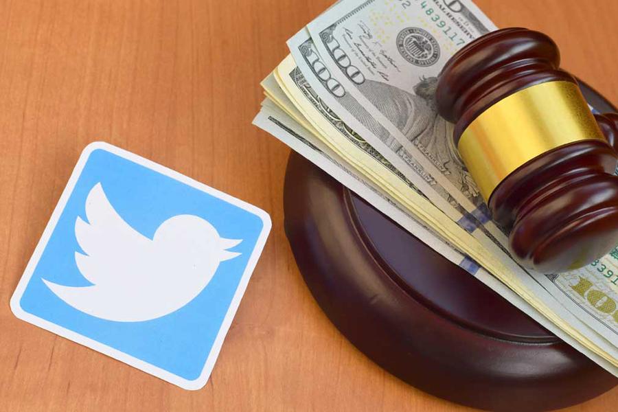 Суд оштрафовал Twitter еще на 9,5 млн рублей