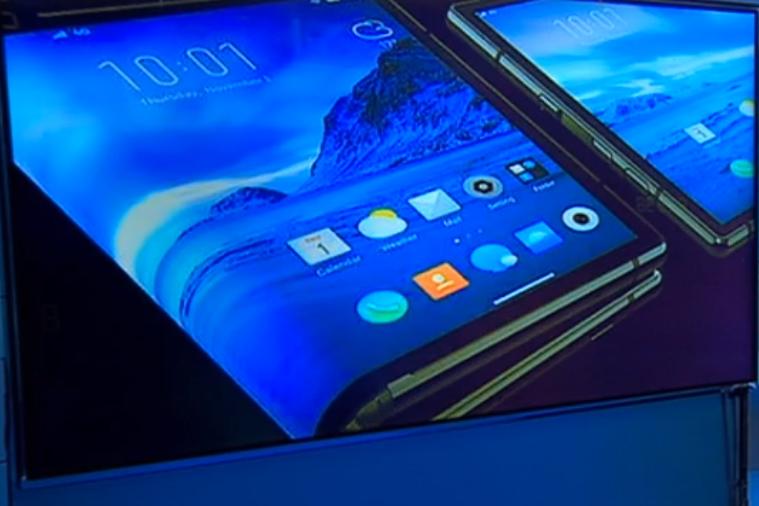 Samsung показал первый прототип сгибаемого смартфона-планшета