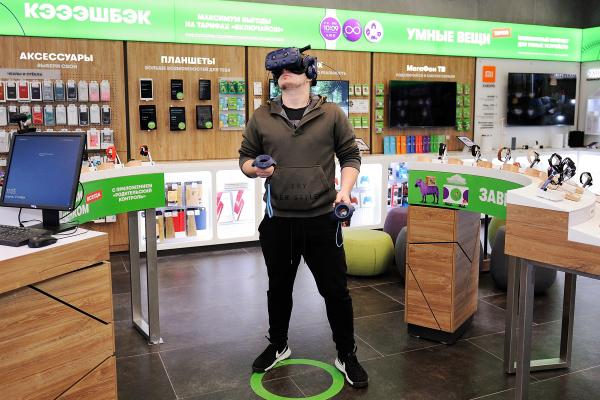 «МегаФон» открывает магазины нового формата с игровой зоной