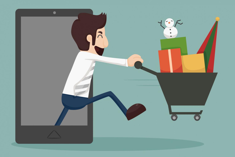 За покупками в виртуальный магазин