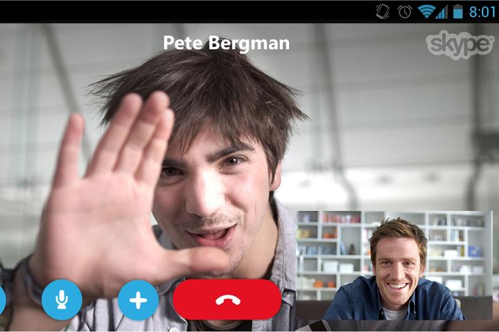 В мобильной версии Skype появятся групповые видеозвонки