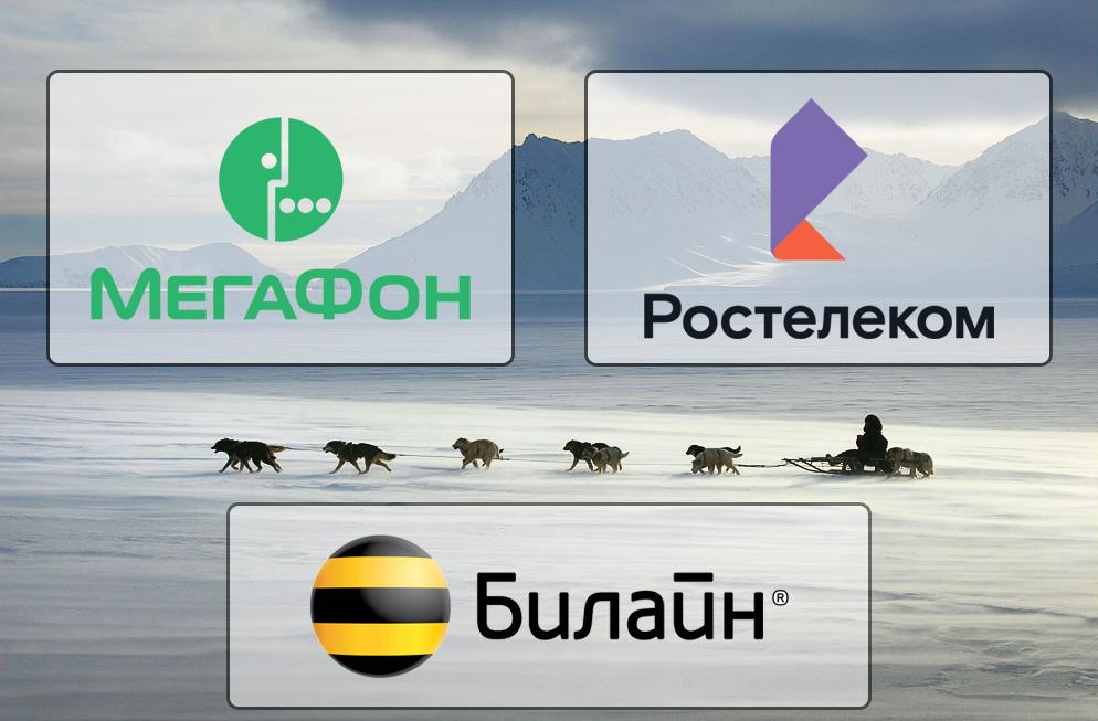 Билайну, МегаФону и Ростелекому выделят полмиллиарда для развития интернета на Чукотке