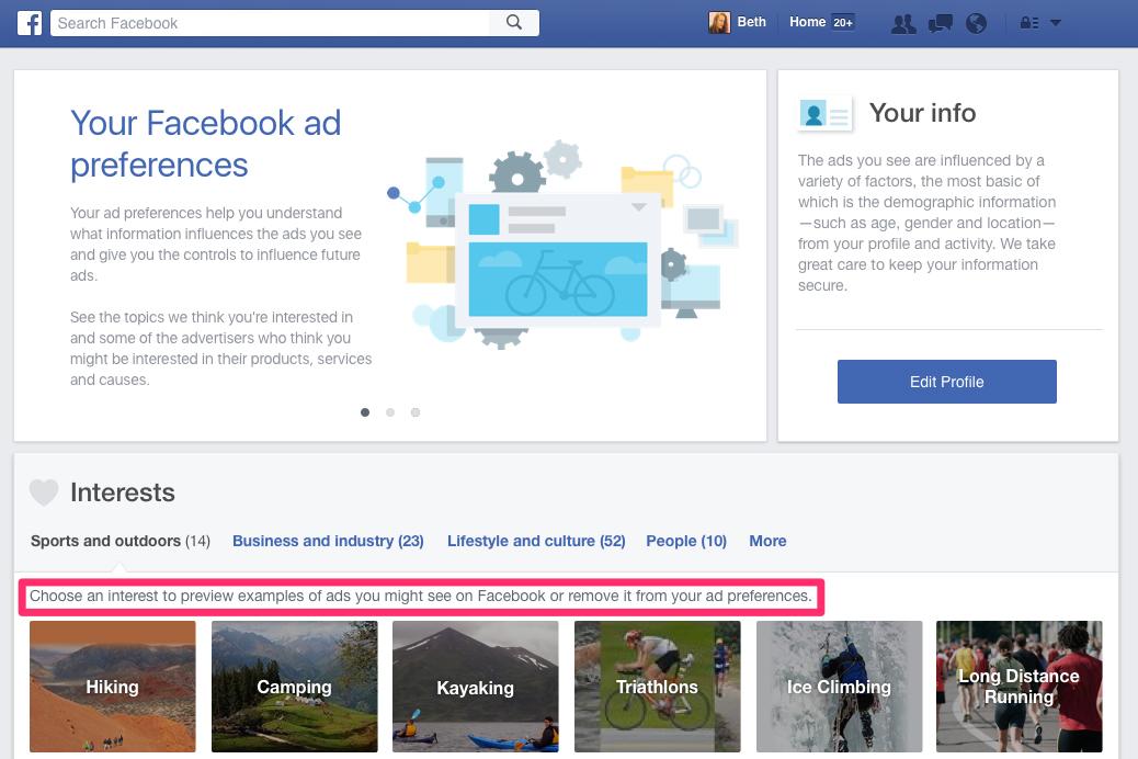 Facebook заставит пользователей смотреть рекламу