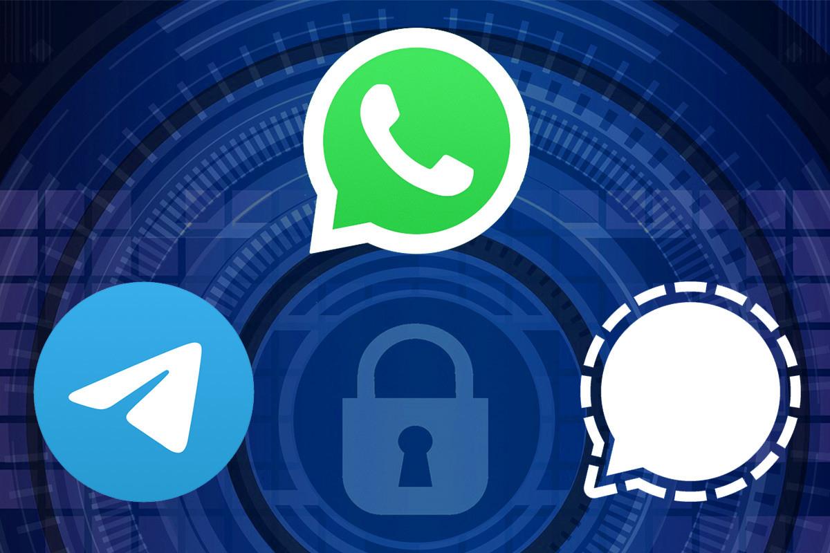 Мессенджеры WhatsApp, Signal и Telegram не прошли базовый тест на безопасность