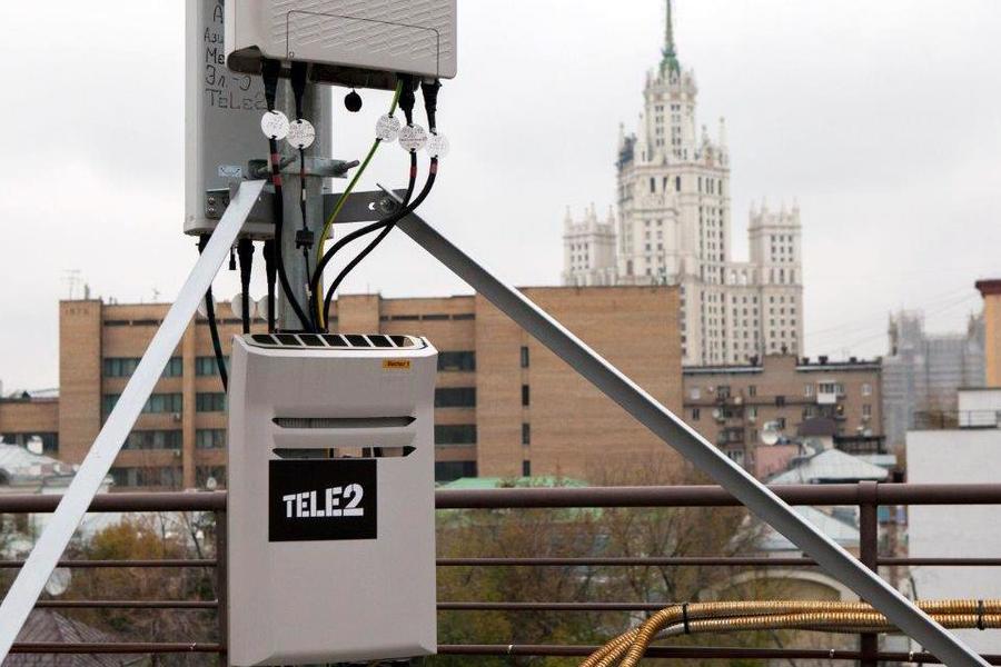 Мощности мобильной сети Tele2 увеличились в два раза
