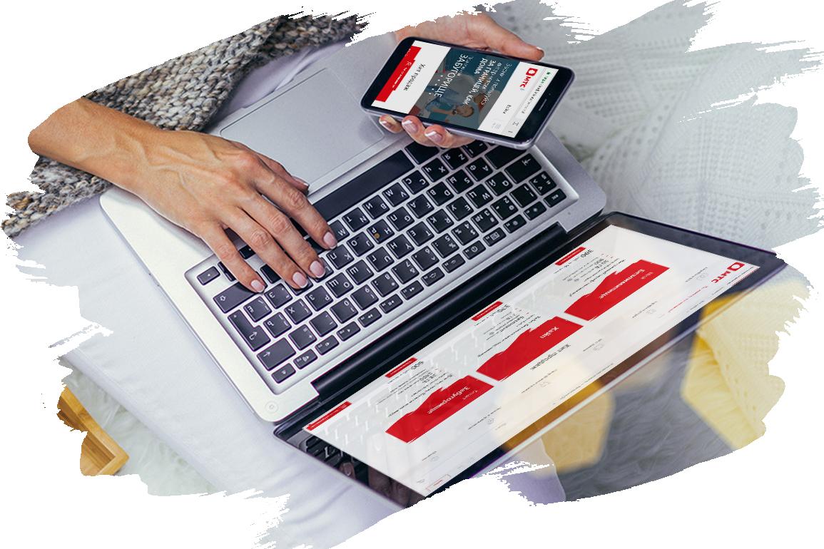 МТС запускает новый дизайн сайта адаптивный под мобильные телефоны