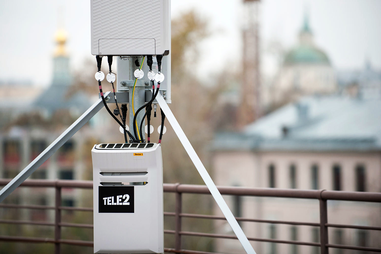 Tele2 строит сеть быстрее всех в отрасли
