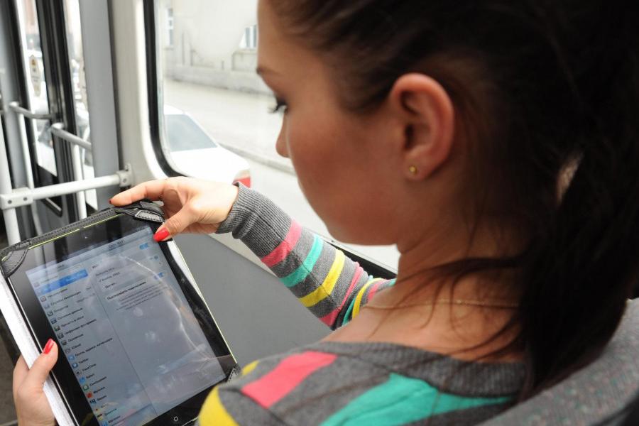 В Москве для пассажиров общественного транспорта создана бесшовная зона Wi-Fi