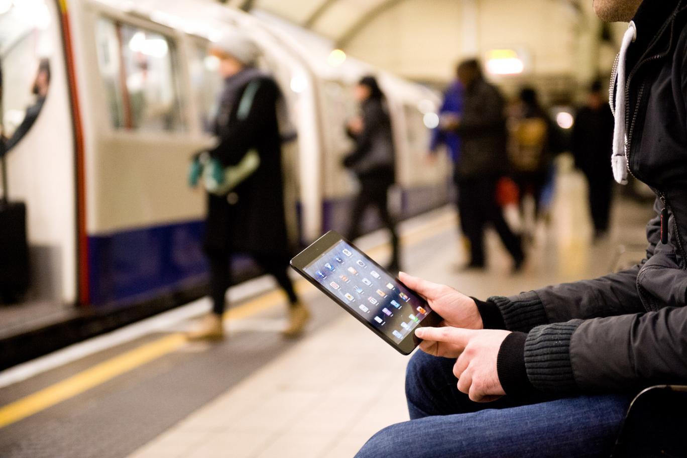 Бесплатный Wi-Fi доступен на всех линиях метро Санкт-Петербурга