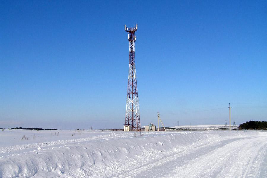 Мобильная связь появилась в 2021 году в селе Сосновка Каргасокского района Томской области
