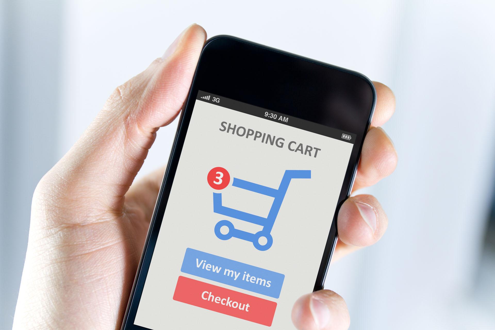 Доля покупок со смартфонов растет в основном за счет небольших платежей