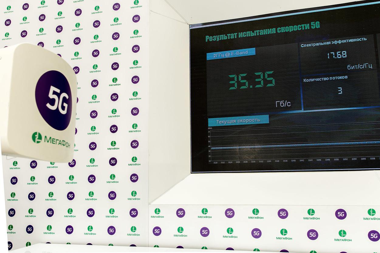 Попробовать 5G на вкус: «МегаФон» показывает цифровое будущее на Moscow Urban Forum
