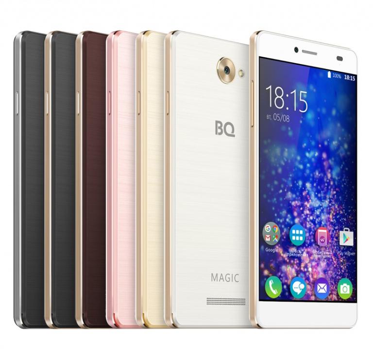 недорогой смартфон BQ BQS-5070 Magic