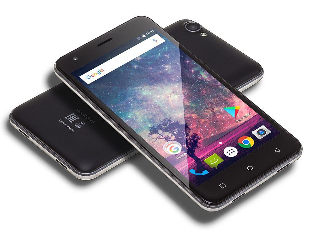 недорогой смартфон Digma VOX G501 4G