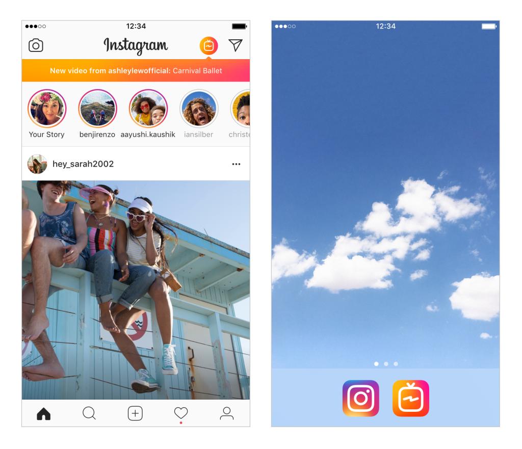 Приложение IGTV  Instagram