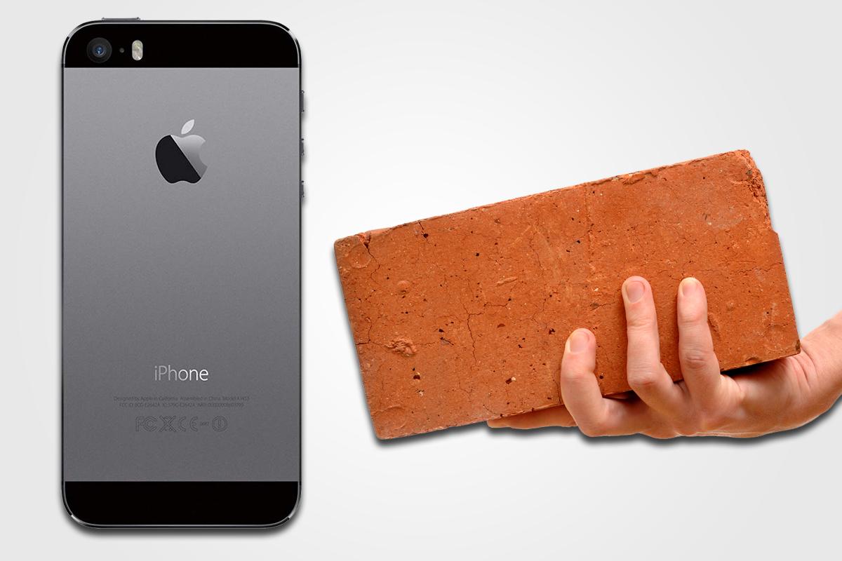 """iPhone 5 может превратиться в """"кирпич"""""""