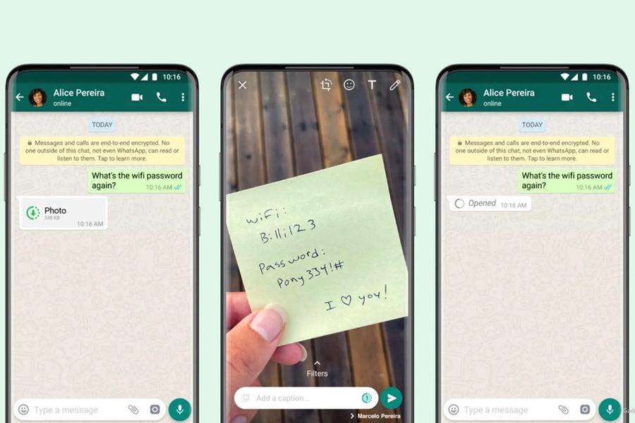 WhatsApp запустил функцию исчезающих фотографий и видео