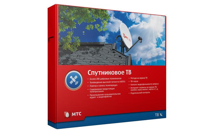 МТС меняет подход к продажам спутникового ТВ