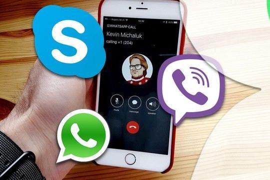 Почти 40% абонентов предпочитают звонить через мессенджеры