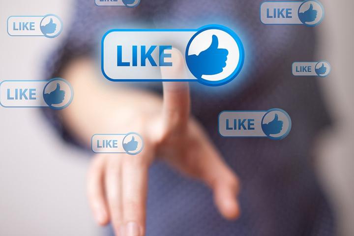 Facebook изменил дизайн кнопки «Like»