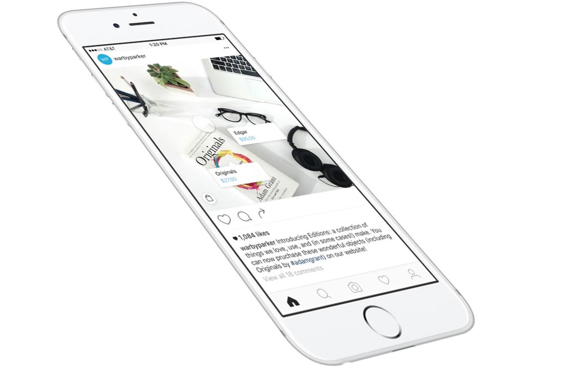 Instagram позволит покупать вещи напрямую с фотографий