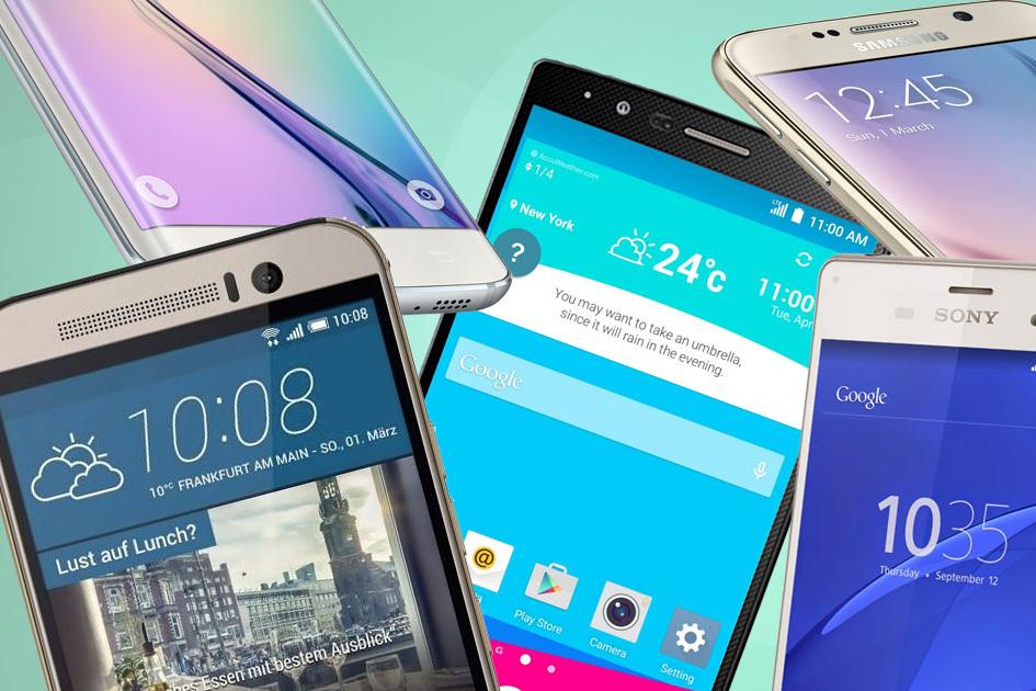 «Роскачество» составило рейтинг лучших смартфонов с диагональю от 4,6 до 5,4 дюймов
