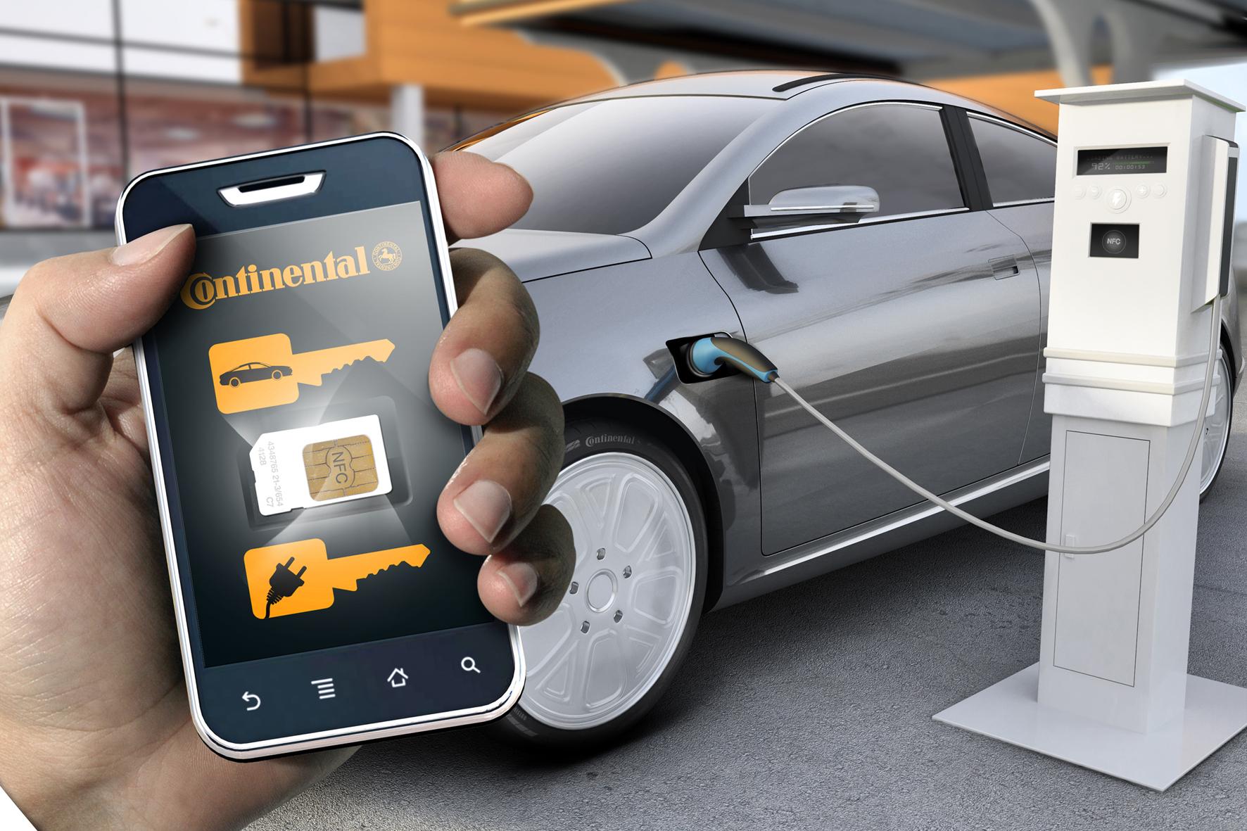 Смартфон как электронный ключ от автомобиля
