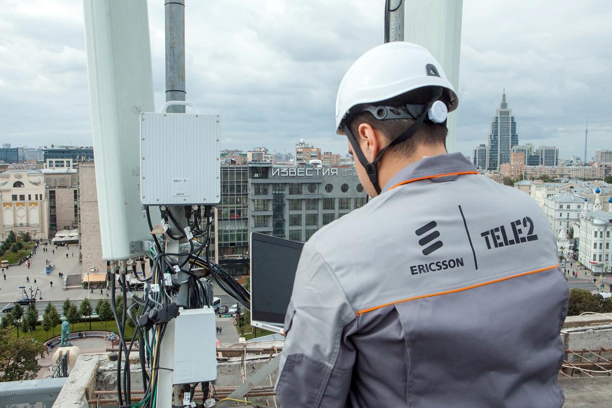 Tele2 установит еще 50 000 базовых станций Ericsson