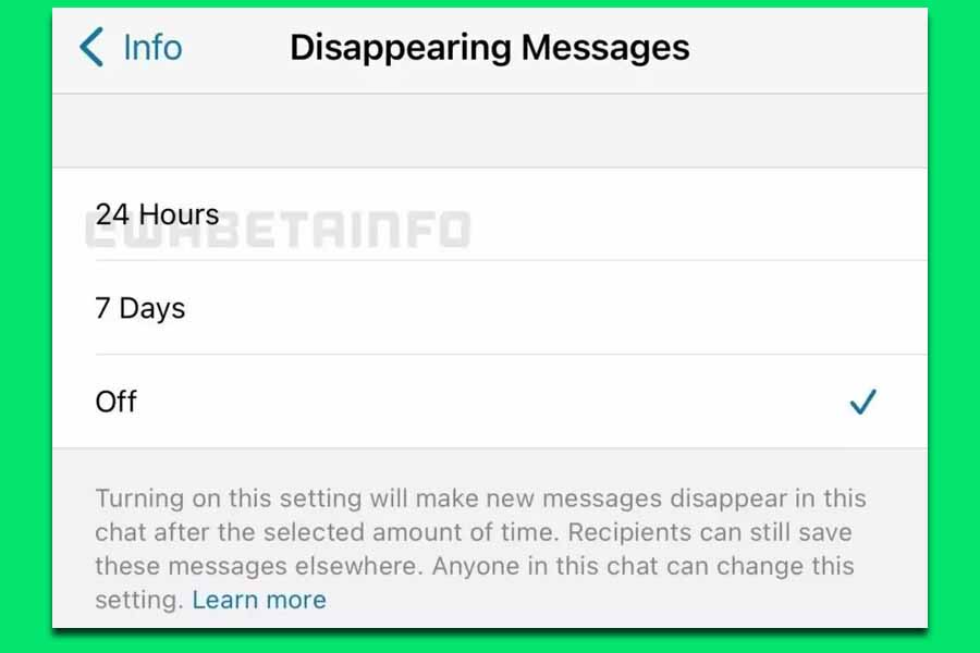 WhatsApp позволит удалять сообщения через сутки