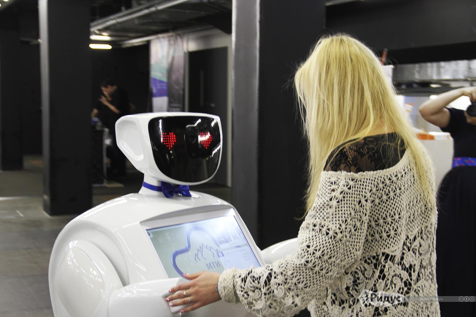 В компании МТС «вышел» на работу HR-специалист робот Вера