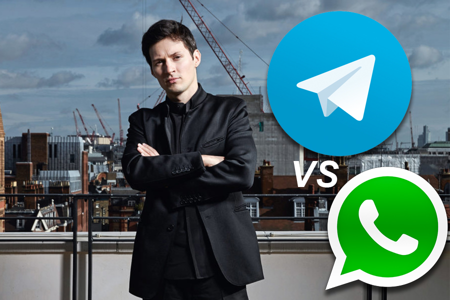 Telegram VS WhatsApp – Павел Дуров раскритиковал конкурента