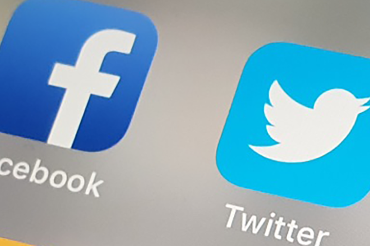 Суд повторно оштрафовал Facebook и Twitter